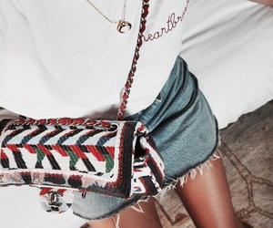 chanel, skirt, and fashion image