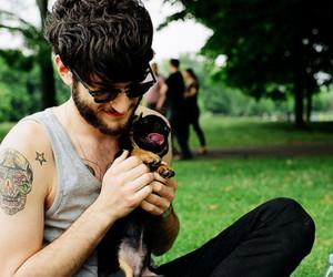 boy, dog, and tattoo image