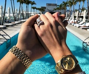 couple, luxury, and ring image