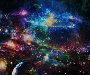 galaxies, nebula, and planeta image