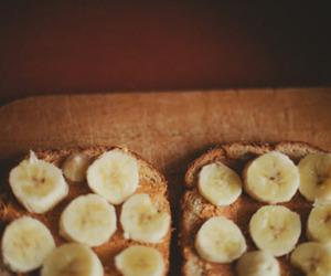 banana, bread, and food image
