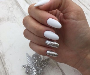 girly, manicure, and nails image