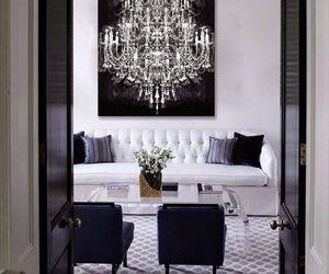 chandelier, interior, and design image