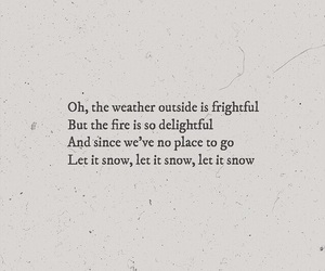 snow, quote, and words image