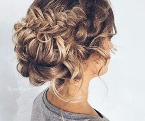 hair, hairstyle, and cabello image