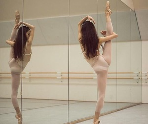 ballet, dancing, and girl image