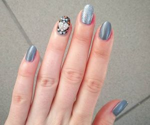 hello kitty, nagellack, and notd image