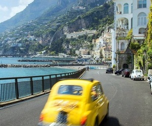 italy, summer, and car image