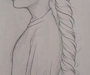 art, braids, and makeup image