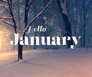 2016, hello, and january image