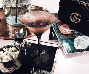 cosmo, drink, and girly image