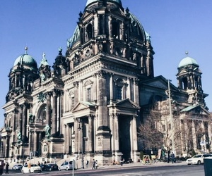 architecture, berlin, and church image