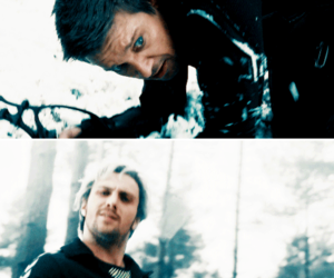 hawkeye, quicksilver, and clint barton image