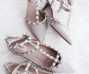 fashion style glamour, rose gold pink, and purses sneakers heels image