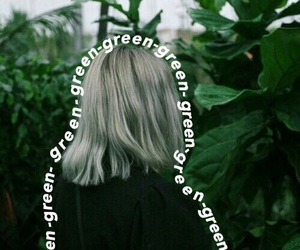 green and random image