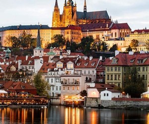 city, czech republic, and photography image