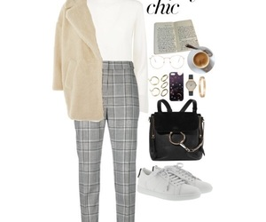 casual, grey, and street style image