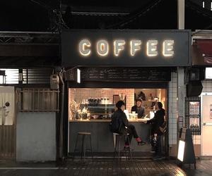 coffee, dark, and night image