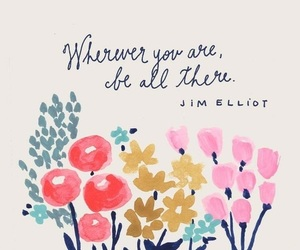 flowers, quotes, and happiness image
