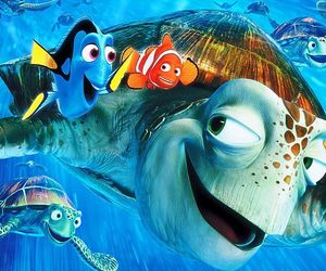 wallpaper, disney, and finding nemo image
