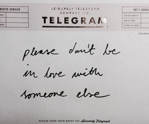 love, quotes, and telegram image