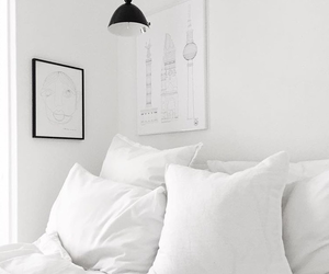 interior, bed, and decor image