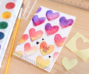 diy, gift, and valentine image