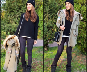 brunette, ugg boots, and blogger style image