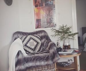blanket, decoration, and boho image