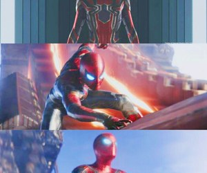 Avengers, peter parker, and infinity war image