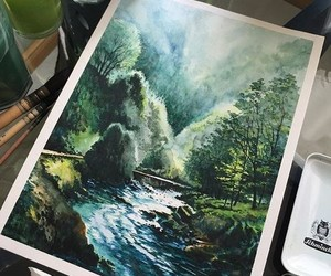 painting, art, and draw image
