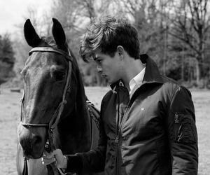 horse, Francisco Lachowski, and boy image