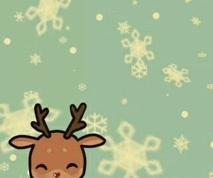 background, christmas, and kawaii image