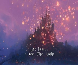 disney, tangled, and light image