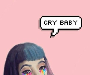 crybaby, edit, and pink image