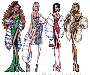 fashion illustration and hayden williams image