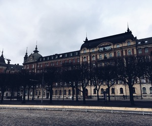 city, stockholm, and street image
