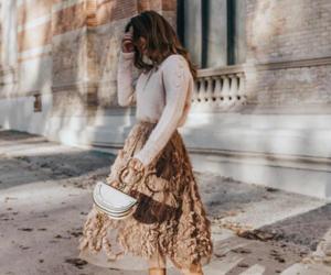 fashion, skirt, and moda image