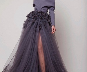 long dresses, haute couture gowns, and azzi & osta 2018 image