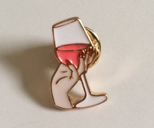 pin and wine image