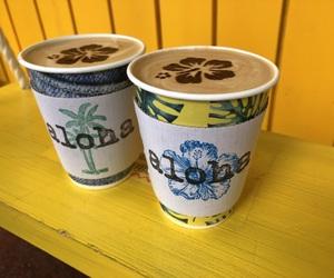 Aloha, cafe, and coffee image