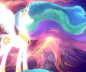 my little pony, MLP, and celestia image
