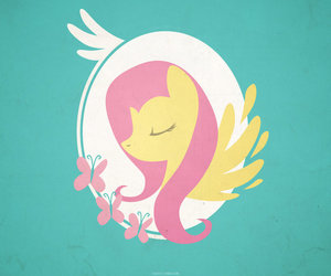 butterfly, green, and MLP image