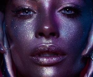 glitter, luminoso, and gol image