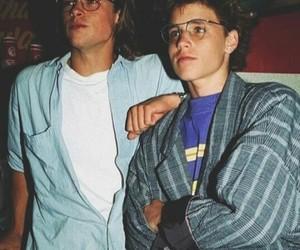90s, brad pitt, and corey haim image