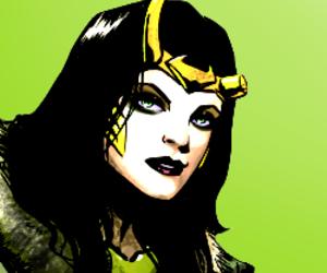 Marvel and lady loki image