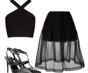 style black and Polyvore image