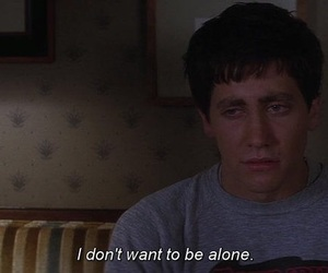 alone, donnie darko, and quotes image