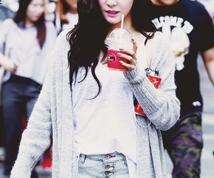 asian, tiffany snsd, and unnie image