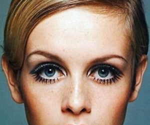 twiggy, model, and vintage image